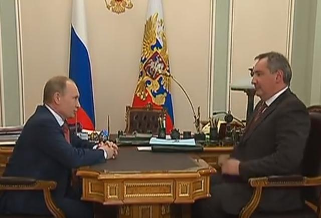 Vladimir Putin i Dmitri Rogozin
