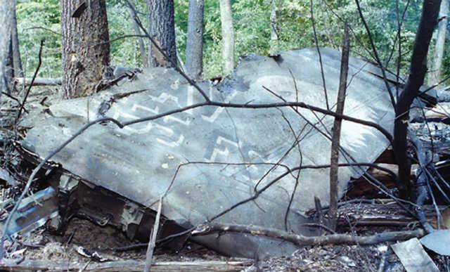 Ostaci aviona F-16CG