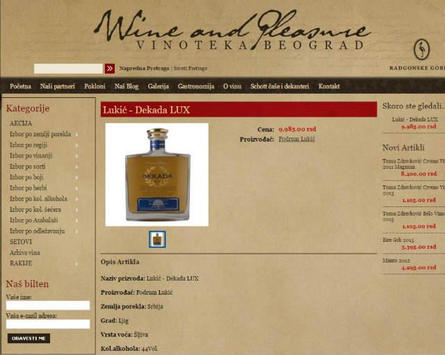 Boli glava od cene: Ovo je naskuplja rakija u Srbiji