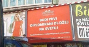 """""""Budi prvi diplomirani di-džej na svetu"""": Ovo ima samo u Srbiji i na Megatrendu!"""