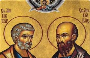 Po narodnom verovanju, Sveti Petar je sa Svetim Savom zamenio verige, pa se zato dešava da su na Savindan dani topli, a oko Petrovdana sveži.