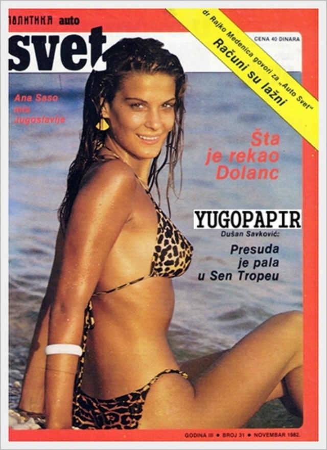 Seks-simbol cele jedne generacije: Ana Saso
