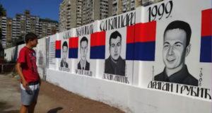 (VIDEO) Neka znaju srpski đaci gde su ginuli junaci: Mural u slavu stradalih boraca sa Košara
