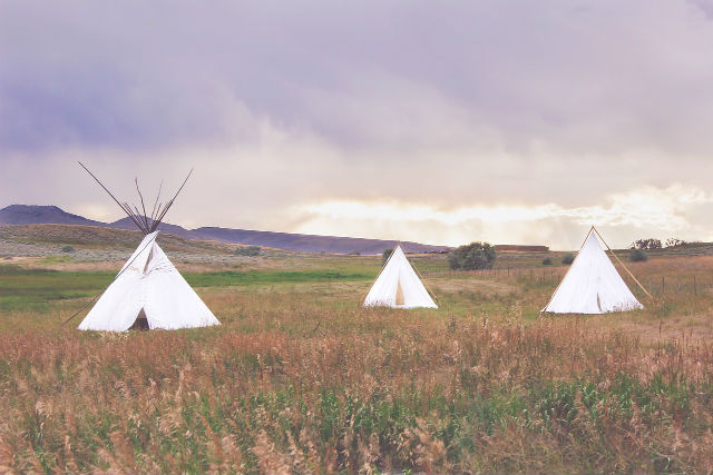 Vigmani: Šator u kome su živeli Indijanci