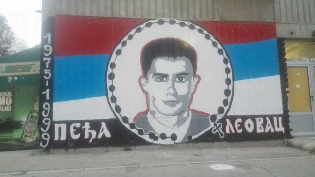 Mural Peđa Leovac u Prijepolju
