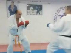 (VIDEO) Bora Drljača kao Karate Kid: Ovako se Stari vuk sprema za Svetsko prvenstvo