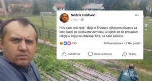 FOTO) Status Bosanca koji je nasmejao čitav region: Hteo sam reći reč, dve o Srbima i plivanju za krst časni, ali…